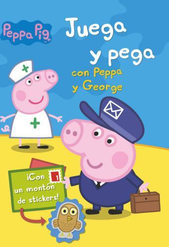 Juega Y Pega Con Peppa Y George