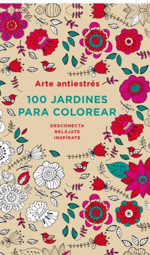 100 Jardines Para Colorear