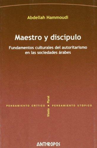 Maestro Y Discipulo