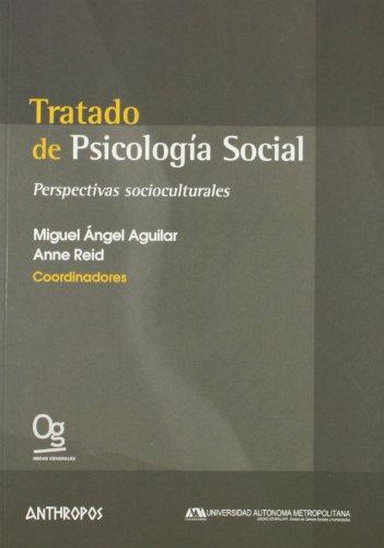 Tratado De Psicologia Social Perspectivas Socioculturales