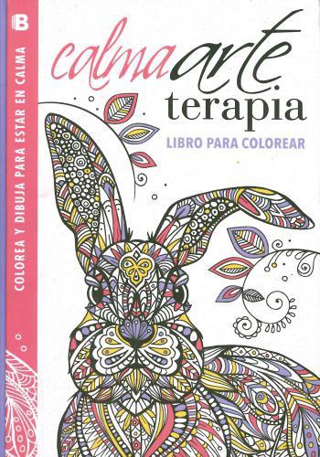 Calmaarte Terapia Libro Para Colorear