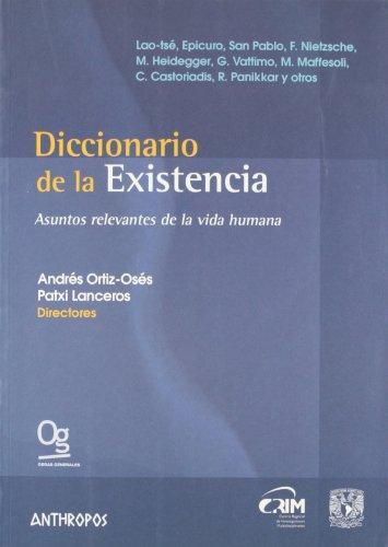 Diccionario De La Existencia