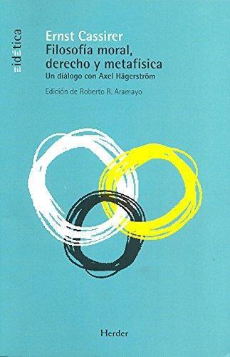 Filosofia Moral Derecho Y Metafisica