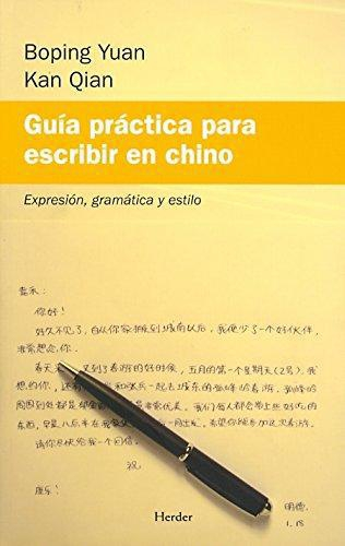 Guia Practica Para Escribir En Chino