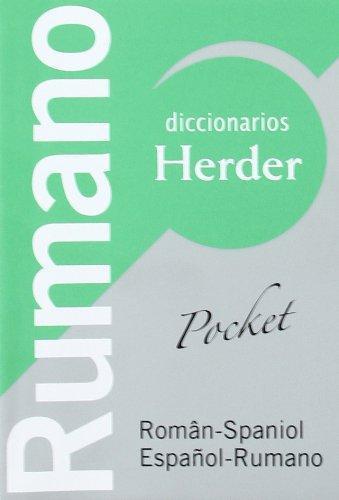 Diccionario (H) Pocket Rumano. Español - Rumano / Roman - Spaniol