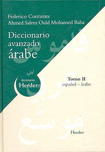 Diccionario (H) Avanzado Arabe (T.Ii)