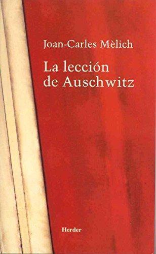 Leccion De Auschwitz, La