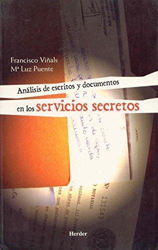 Analisis De Escritos Y Documentos En Los Servicios Secretos