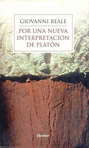 Por Una Nueva Interpretacion De Platon
