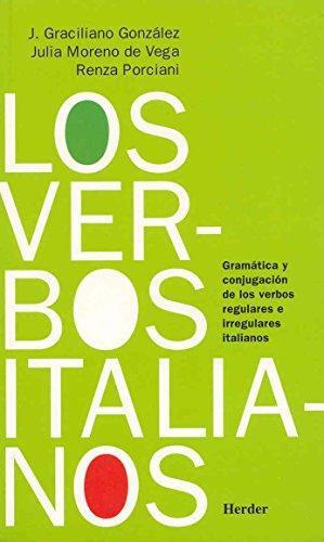 Verbos Italianos, Los