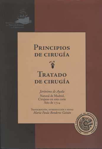 Principios De Cirugia. Tratado De Cirugia