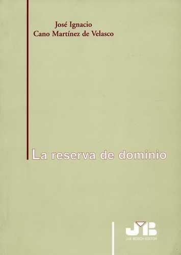 Reserva De Dominio, La