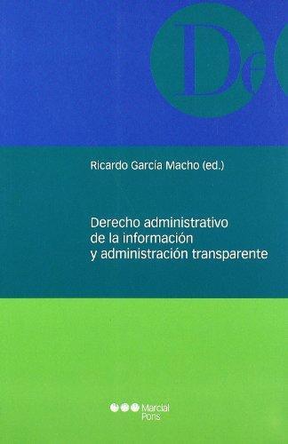 Derecho Administrativo De La Informacion Y Administracion Transparente