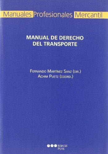 Manual De Derecho Del Transporte
