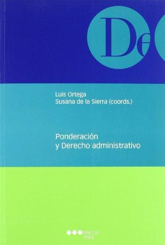 Ponderacion Y Derecho Administrativo
