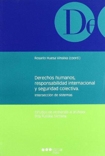 Derechos Humanos Responsabilidad Internacional Y Seguridad Colectiva. Interseccion De Sistemas