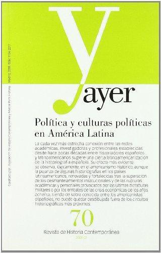 Politica Y Culturas Politicas En America Latina
