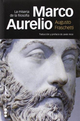 Marco Aurelio La Miseria De La Filosofia