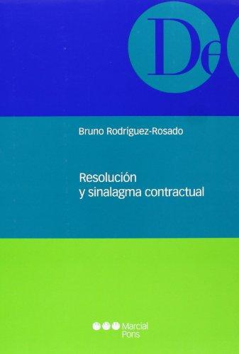 Resolucion Y Sinalagma Contractual