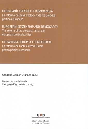 Ciudadania Europea Y Democracia