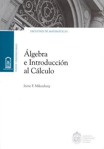 Algebra E Introduccion Al Calculo