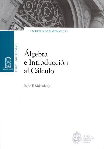 Algebra E Introduccion Al Calculo