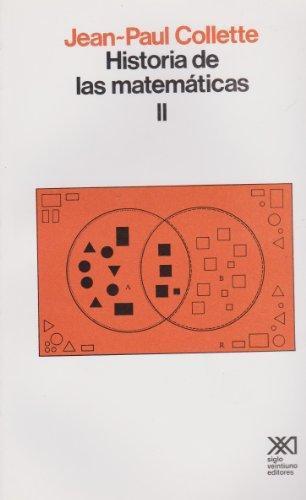 Historia De Las Matematicas Ii