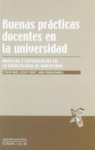 Buenas Practicas Docentes En La Universidad