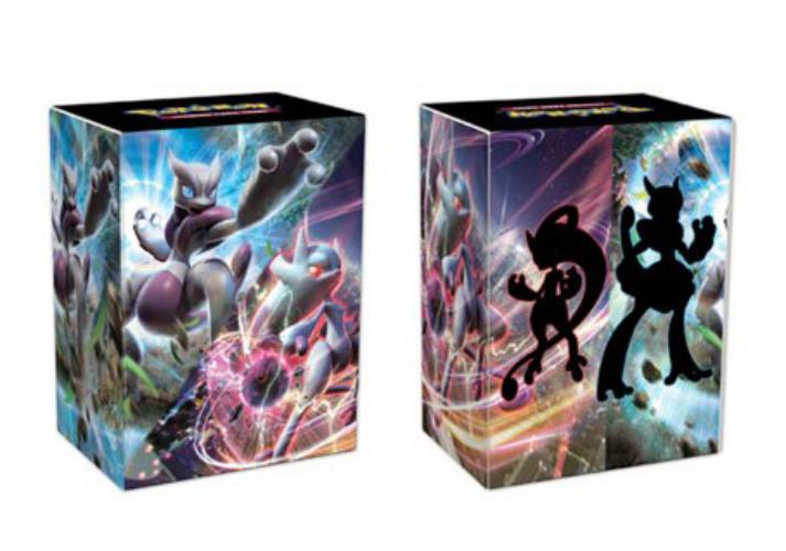Deck Box: Pokémon Mega Mewtwo X And Mega Mewtwo Y