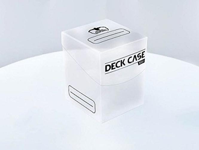 Deck Box: Ultimate Guard Deck Case 100+ Standard Size Transluscent