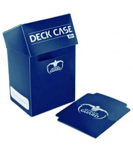 Deck Box: Ultimate Guard Deck Case 80+ Standard Size Blue