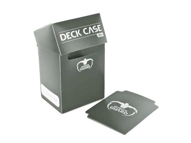 Deck Box: Ultimate Guard Deck Case 80+ Standard Size Grey