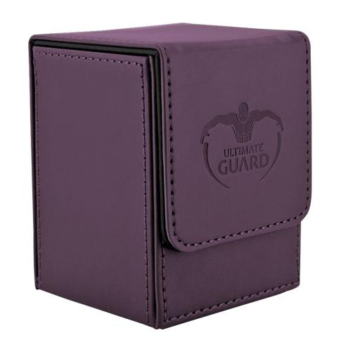 Deck Box: Ultimate Guard Flip Deck Case 100+ Standard Size Purple