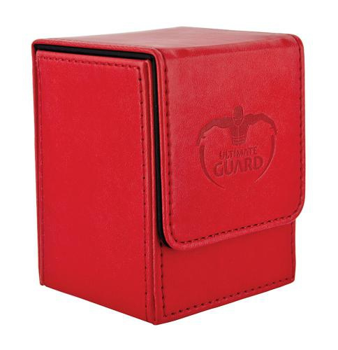 Deck Box: Ultimate Guard Flip Deck Case 100+ Standard Size Red
