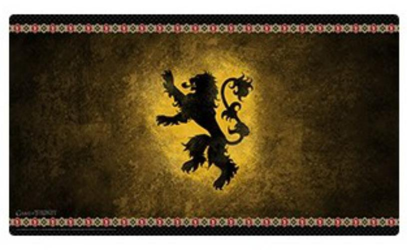 Playmat: Hbo Game Of Thrones: House Lannister