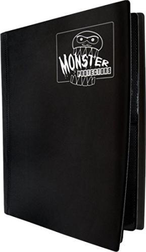 Portfolio: Monster 4-Pocket Binder - Matte Black