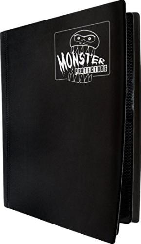 Portfolio: Monster 4-Pocket Binder - Matte Black