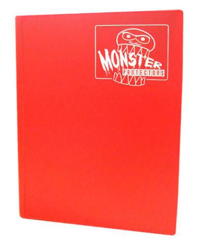 Portfolio: Monster 4-Pocket Binder - Matte Red