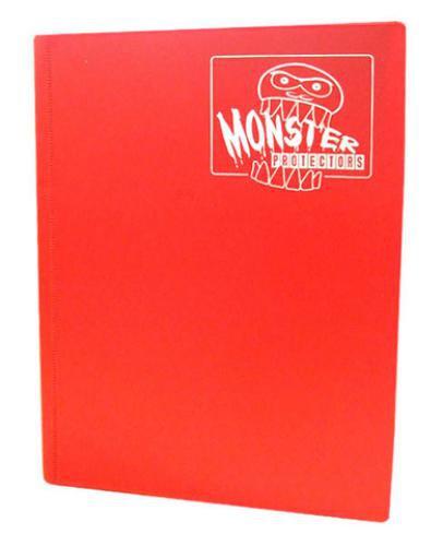 Portfolio: Monster 4-Pocket Binder - Matte Red
