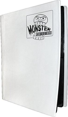 Portfolio: Monster 4-Pocket Binder - Matte White