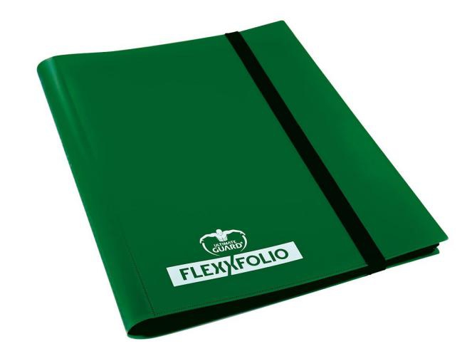 Portfolio: Ultimate Guard 4-Pocket Flexxfolio Green