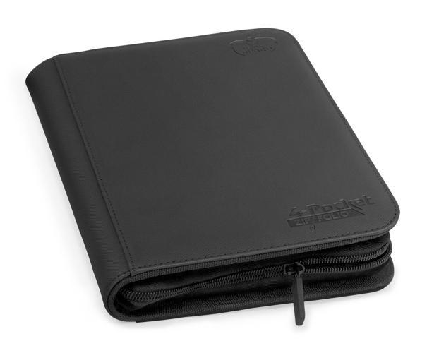 Portfolio: Ultimate Guard 4-Pocket Zipfolio Xenoskin Black