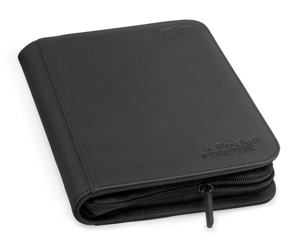 Portfolio: Ultimate Guard 4-Pocket Zipfolio Xenoskin Black