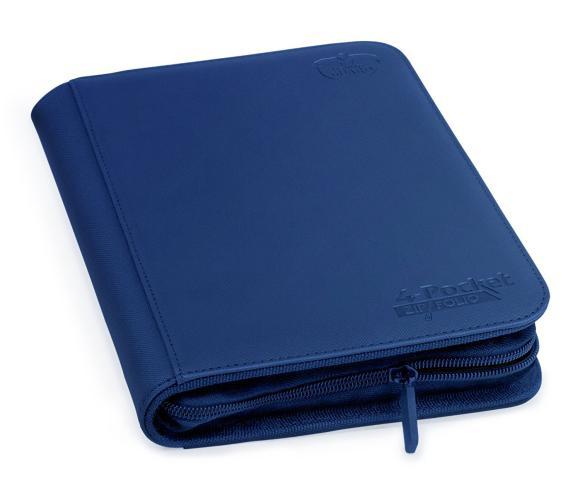 Portfolio: Ultimate Guard 4-Pocket Zipfolio Xenoskin Dark Blue