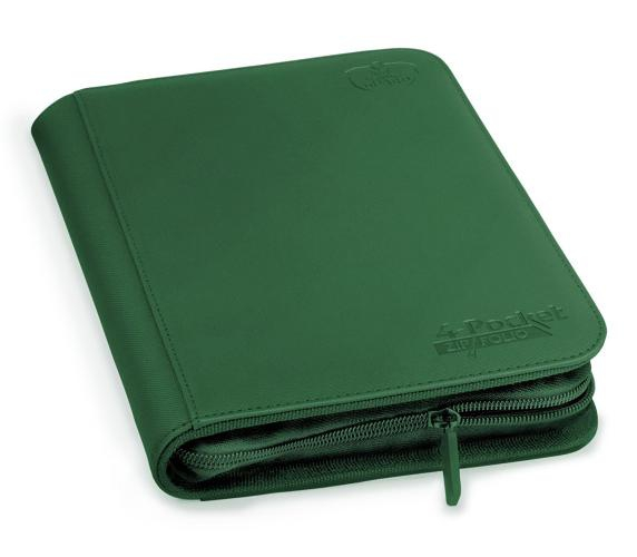 Portfolio: Ultimate Guard 4-Pocket Zipfolio Xenoskin Green