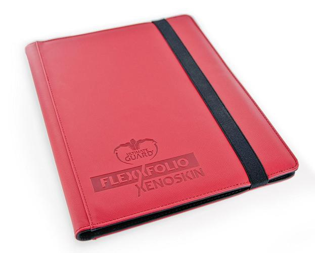 Portfolio: Ultimate Guard 9-Pocket Flexxfolio Xenoskin Red