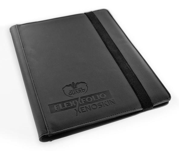 Portfolio: Ultimate Guard 9-Pocket Flexxfolio Xenoskin Black