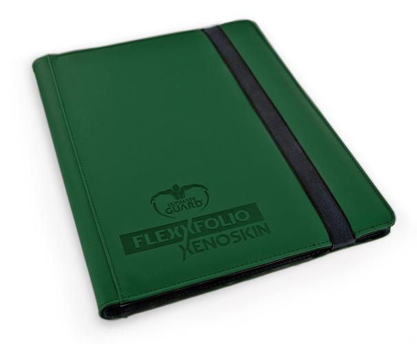 Portfolio: Ultimate Guard 9-Pocket Flexxfolio Xenoskin Green
