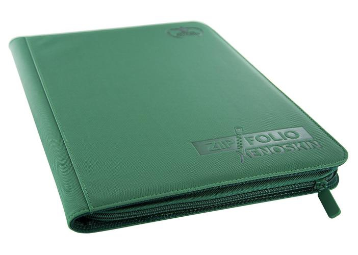 Portfolio: Ultimate Guard 9-Pocket Zipfolio Xenoskin Green