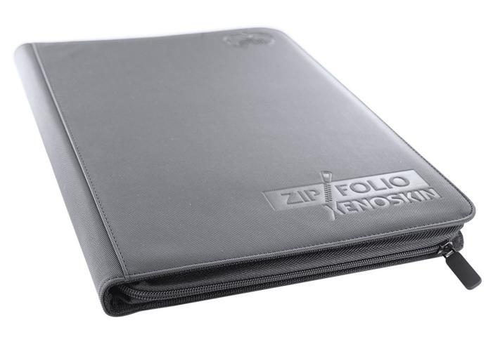 Portfolio: Ultimate Guard 9-Pocket Zipfolio Xenoskin Grey